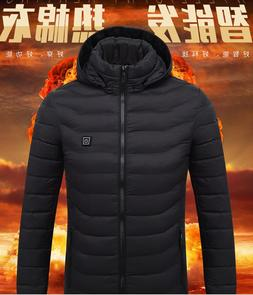 2019 NEW <font><b>Mens</b></font> Heated Jackets Outdoor <fo