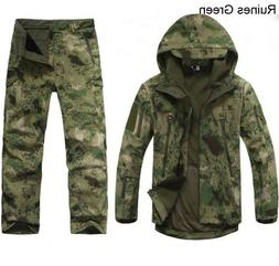 2PCS New Outdoor Winter Hunting Mens Jacket Coat +pants Wate