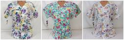 Barco Short Sleeve Button Front Lab Coat/Scrub Top SG132 384