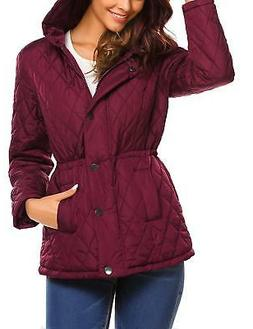 Beyove Women's Packable Lightweight Quilted Outdoor Puffer V