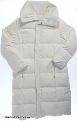 Calvin Klein Women's XS  Long Quilted Down Puffer Coat Heavy