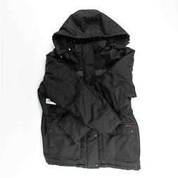 Caterpillar Men's Heavy Insulated Parka, Black, X-Large