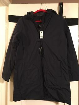 NWT Women's Aether Apparel Arctic Trench Coat Total Eclipse