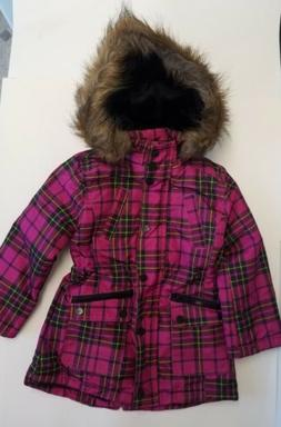 Urban Republic Girls Winter Coat -Purple Plaid- Size 4T-Jack