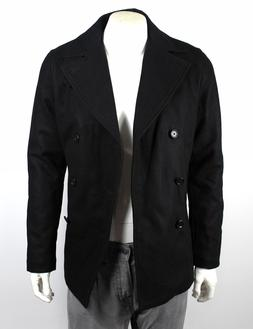 Armani Exchange A|X Men's Double Breasted Wool Coat/Jacket -