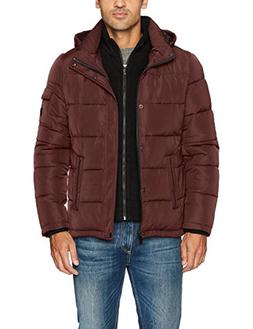 Calvin Klein Men's Alternative Down Puffer Jacket with Bib &