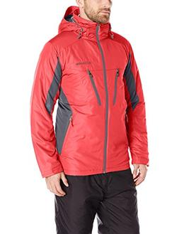 Columbia Men's Antimony IV Jacket, Bright Red/Graphite, Medi
