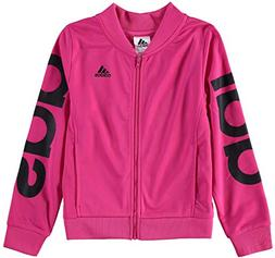 adidas Girls' Big Bomber Jacket, Magenta ap, M