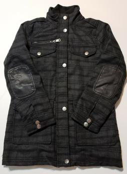 Urban Republic Big Boys' Military Coat With Vestee Blue Tona