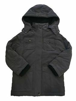 Urban Republic Boys Ballistic Coat With Fleece Lining Storm