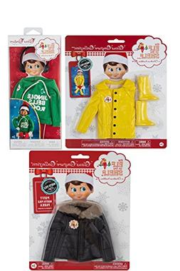 The Elf on the Shelf Claus Couture Collection 3 Pack Bundle: