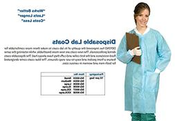 Defend Disposable Protective Lab Dental Gown Coat - - 10 per