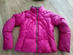 Nike Down Puffer Coat Women's Small Pink New Winter Coat S N