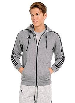 adidas Men's Essential Cotton Fleece Full Zip Jacket