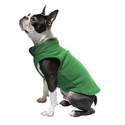 Gooby Every Day Fleece Cold Weather Dog Vest for Small Dogs,