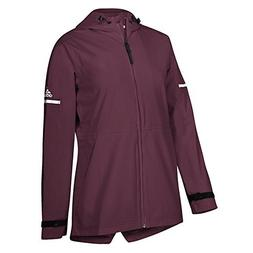 adidas Game Built Rain Jacket S Maroon-White