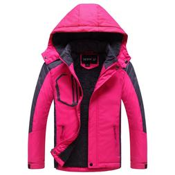 girls soft shell coat with faux fur