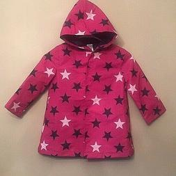 girls star rain coat windbreaker var sizes