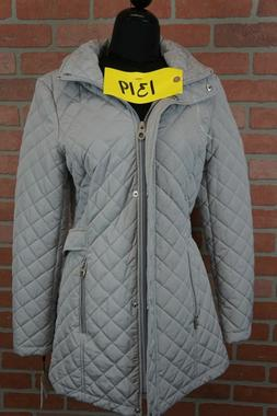 CALVIN KLEIN Hooded Quilted Coat  SIZE XS