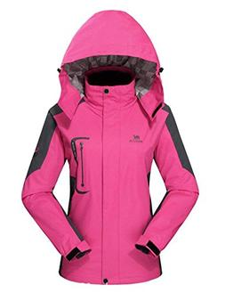 Diamond Candy Waterproof Rain Jacket Women Lightweight Outdo