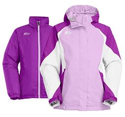 The North Face Girl's 'Kira' Hooded Waterproof TriClimate 3-