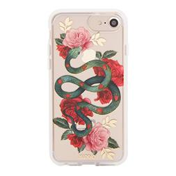 iPhone 8, 7, 6, Sonix Snake Heart  Cell Phone Case  Clear Co