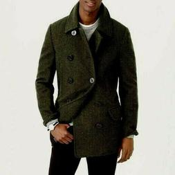 j crew mens dock pea coat thinsulate