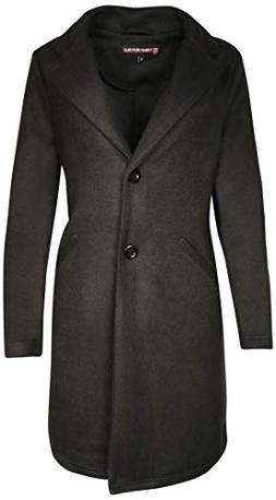 Urban Republic Women's Januiors Brushed Fleece Jacket, Black