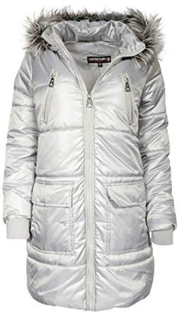 Urban Republic Womens' Warm Heavyweight Parka Puffer Coat wi