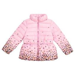 Kids Girls Winter Warm Jacket Coat Velvet Cotton Long Sleeve