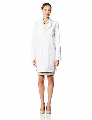 Barco ICU by Women's 34 In 5 Pocket Princess Seam Lab Coats