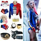 Halloween Costume Suicide Squad Harley Quinn T-shirt Jacket