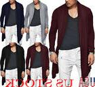 Men's Loose Blazer Sweater Cardigan Casual Long Sleeve Hoodi