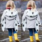 Newborn Baby Boy Girl Clothes Casual Hooded Rabbit Ear Outer