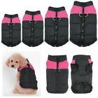 Pink Waterproof Pet Dog Clothes Winter Warm Padded Coat Vest