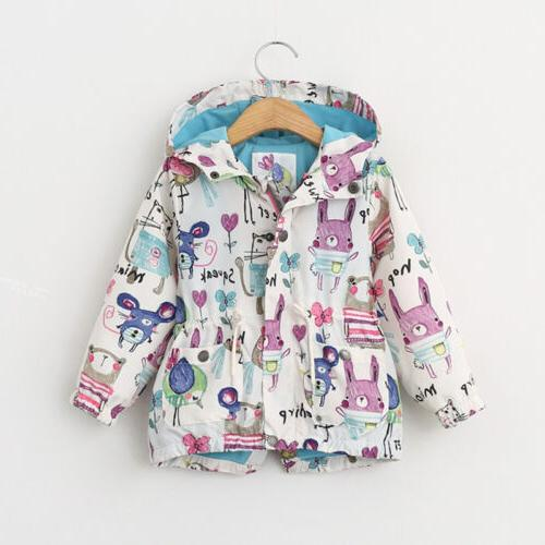 US Canis Children Girls Boy Baby Kids Coat Jacket Hoodie Win