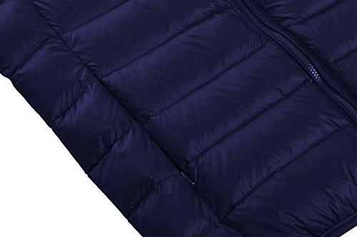 Wantdo Packable Ultra Light Down Coat Short Outwear