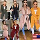 Women's Autumn Long Sleeve Cardigan Knitted Sweater Casual W