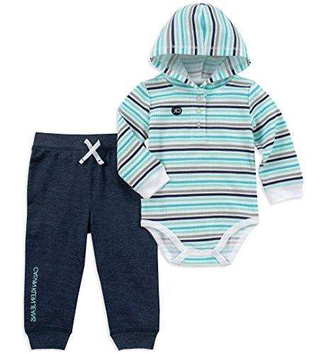 baby boys 2 pieces bodysuit pant set