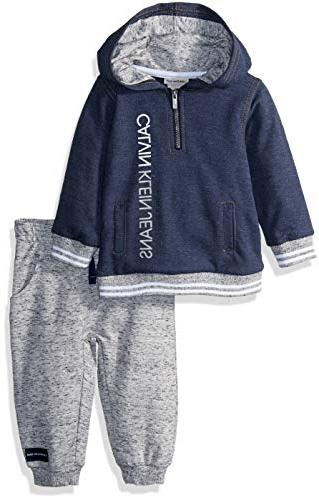baby boys 2 pieces hooded jog pant