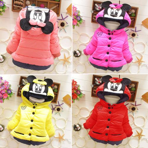 Baby Mouse Hoody Coat 1-4T