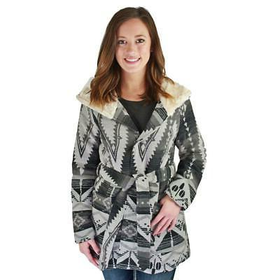 Urban Republic Women's Belt Wrap Shawl Collar Jacket Coat