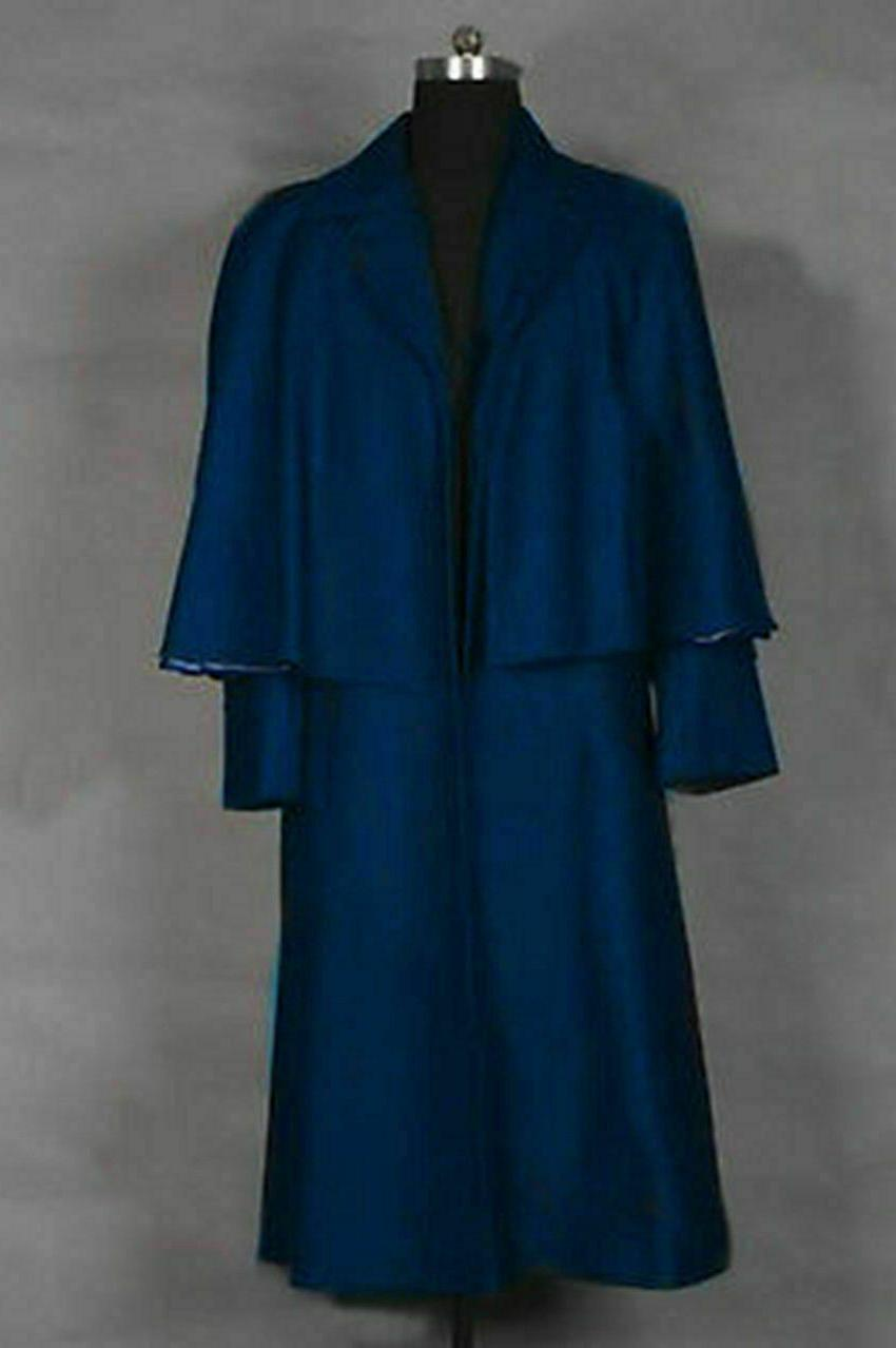 Dark Shadows 2012 Barnabas Collins Johnny Depp Blue Coat Cap