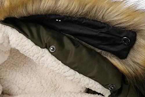 Valuker Down Coat With Fur Parka Puffer