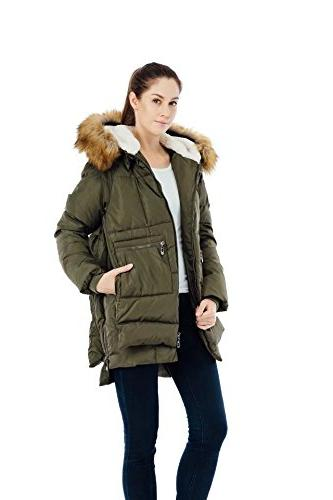 Valuker Down With Hood Parka Puffer