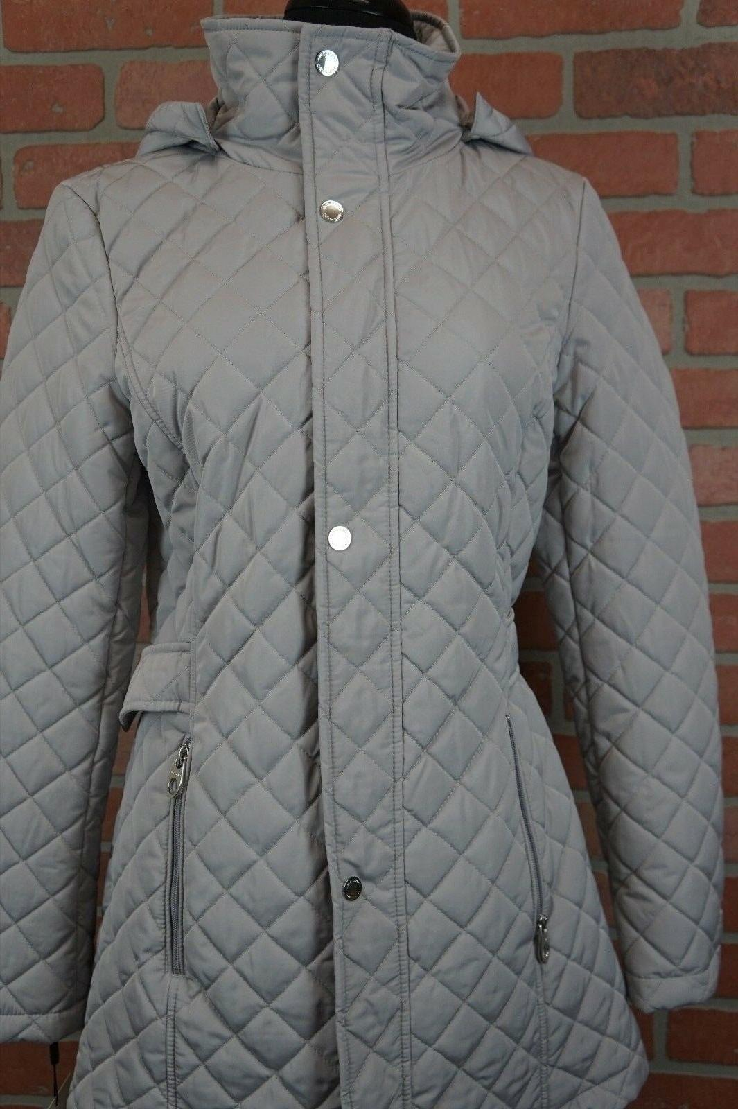 CALVIN KLEIN Quilted Coat SIZE XS