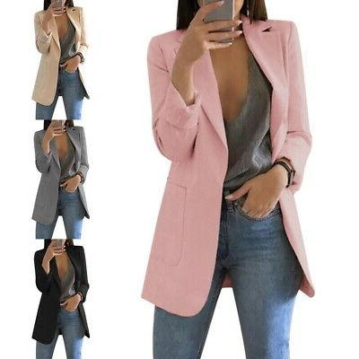 Women Knitted Button Hooded Cardigan Coat Winter Jumper Swea