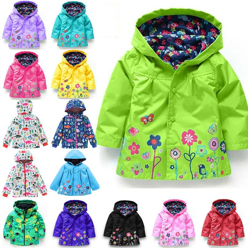 Toddler Hoodie Jacket Coat Winter Warm Outerwear