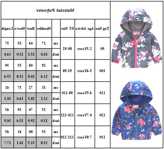Toddler Baby Girls Kids Hoodie Coat Warm Outerwear