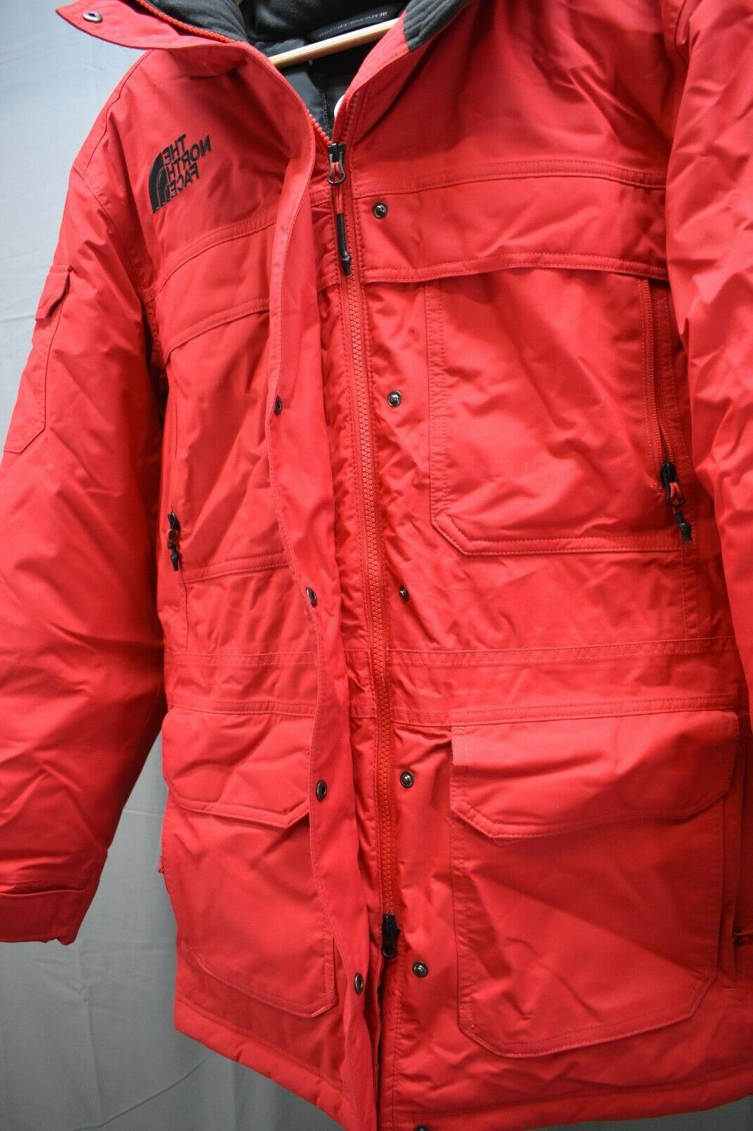 The North Parka Size Red NEW